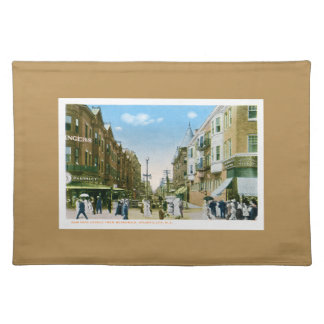 Atlantic City New Jersey New York Ave Boardwalk Placemat
