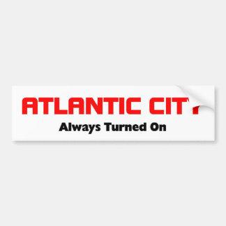 Atlantic City, New Jersey Pegatina Para Auto