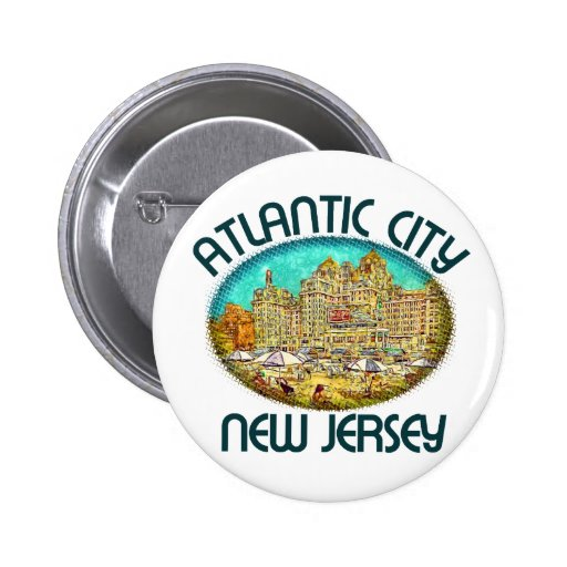 Atlantic City, New Jersey Pin