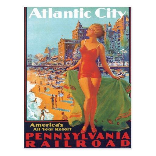 Atlantic City, New Jersey Postales