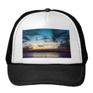 Atlantic City New Jersey Sunset Trucker Hat