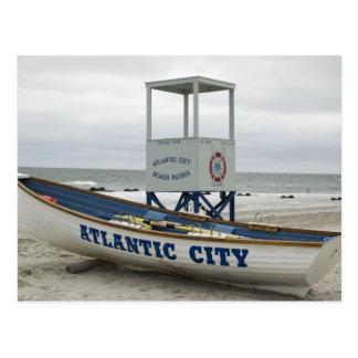 Atlantic City, New Jersey Tarjeta Postal