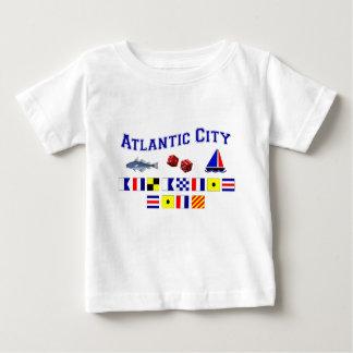 Atlantic City, NJ Playera De Bebé