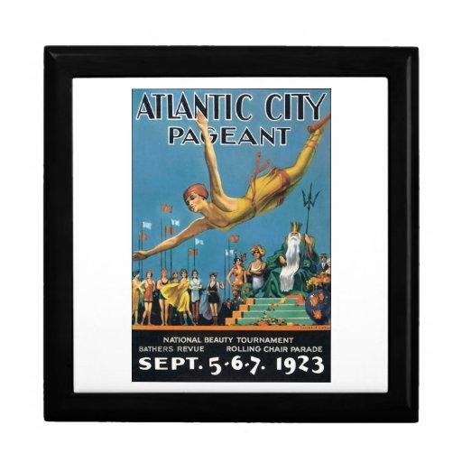 Atlantic City Pageant, 1923 Cajas De Recuerdo