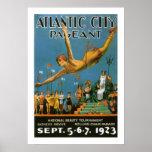 Atlantic City Pageant (border) Poster