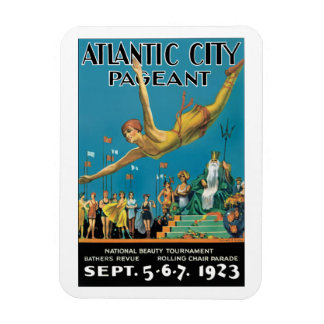 Atlantic City Pageant Magnet