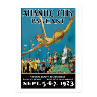 Atlantic City Pageant Postcard