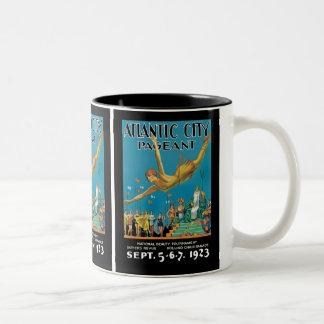 Atlantic City Pageant Two-Tone Coffee Mug