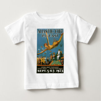 Atlantic City Pageant Vintage Poster Baby T-Shirt