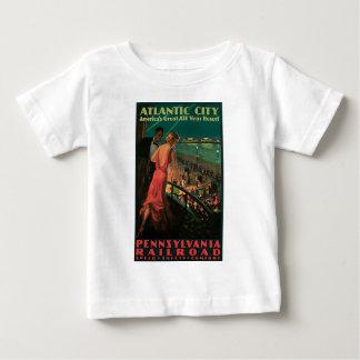 Atlantic City Pennsylvania Railroad Baby T-Shirt