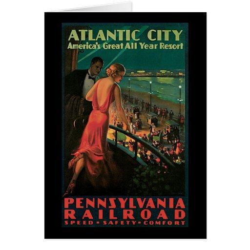 Atlantic City Pennsylvania Railroad Cards