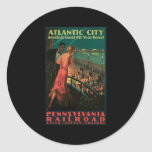 Atlantic City Pennsylvania Railroad Stickers