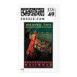 Atlantic City/ Pennsylvania Railroad Vintage Postage