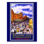 Atlantic City Poster Post Card