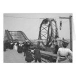 Atlantic City Rollercoaster, 1901 Tarjeta De Felicitación