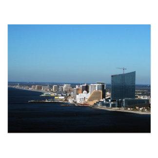 Atlantic City Skyline Postcards