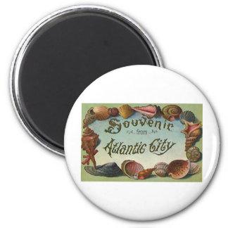 Atlantic city souvenir fridge magnets