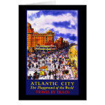 Atlantic City The Playground Of The World Greeting Card
