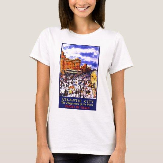 Atlantic City The Playground Of The World T-Shirt