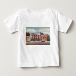 Atlantic City Train Station PRSL 1936 Baby T-Shirt