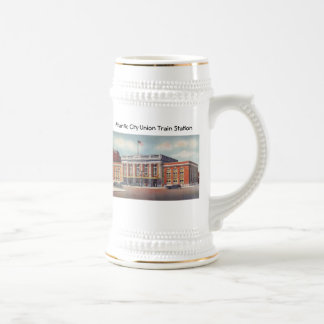 Atlantic City Train Station PRSL 1936 Beer Stein