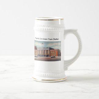 Atlantic City Train Station PRSL 1936 Coffee Mug