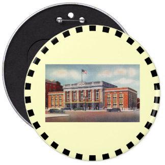 Atlantic City Train Station PRSL 1936 Pinback Button