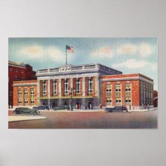 Atlantic City Train Station PRSL 1936 print