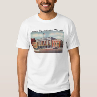 Atlantic City Train Station PRSL 1936 Shirt