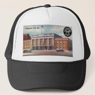 Atlantic City Train Station PRSL 1936 Trucker Hat