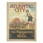 Atlantic City--Vintage 1920s Image Poster