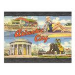 Atlantic City, vintage Postales