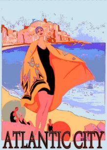 Vintage Atlantic City Posters & Photo Prints | Zazzle