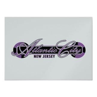 Atlantic City Wheels Card