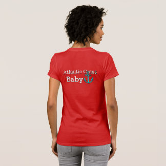 Atlantic coast   Baby Nova Scotia shirt red