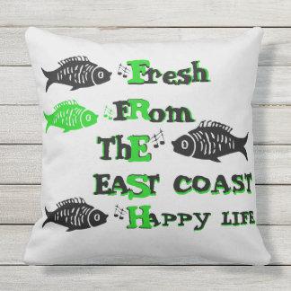 Atlantic Coast Fresh  east coast happy Life pillow