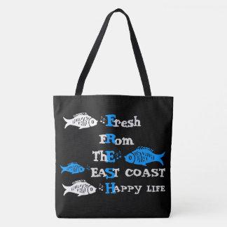 Atlantic Coast Fresh eastcoast happy Life tote bag