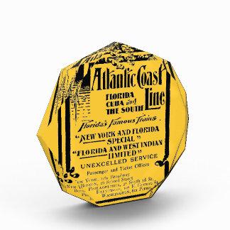 Atlantic Coast Line Railroad 1934 Acrylic Award