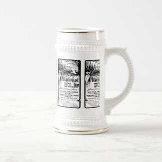 Atlantic Coast Line Railroad 1934 Beer Stein