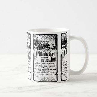 Atlantic Coast Line Railroad 1934 Coffee Mug