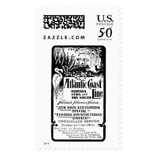 Atlantic Coast Line Railroad 1934 Postage Stamps