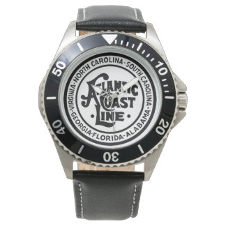 Atlantic Coast Line Railroad Logo Wrist Watch