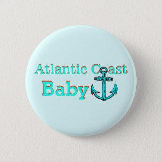 Atlantic Coast Nova Scotia  PEI NFLD Cape Breton Pinback Button