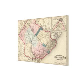 Atlantic County, NJ Canvas Print