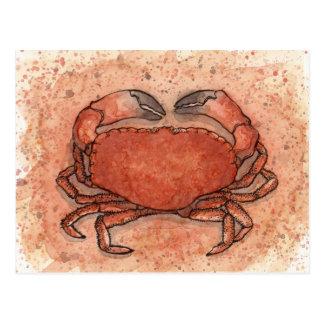 Atlantic Crab Postcard