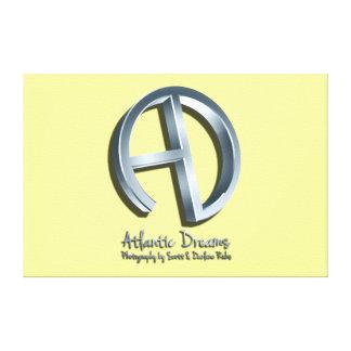 Atlantic Dreams 3D Logo Canvas Print