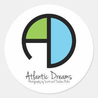 Atlantic Dreams Classic Round Sticker