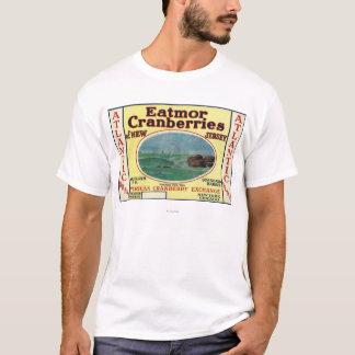 Atlantic Eatmor Cranberries Brand Label T-Shirt
