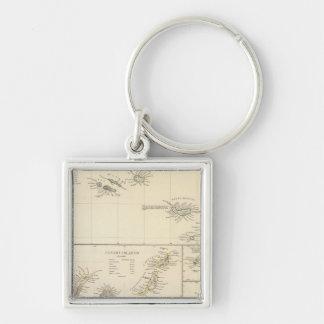 Atlantic Islands Keychain