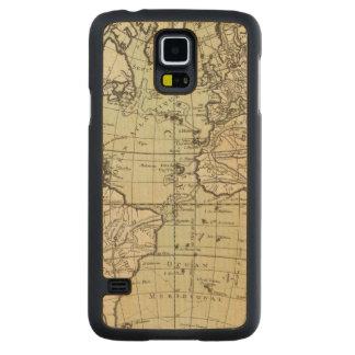 Atlantic Ocean 3 Carved® Maple Galaxy S5 Slim Case